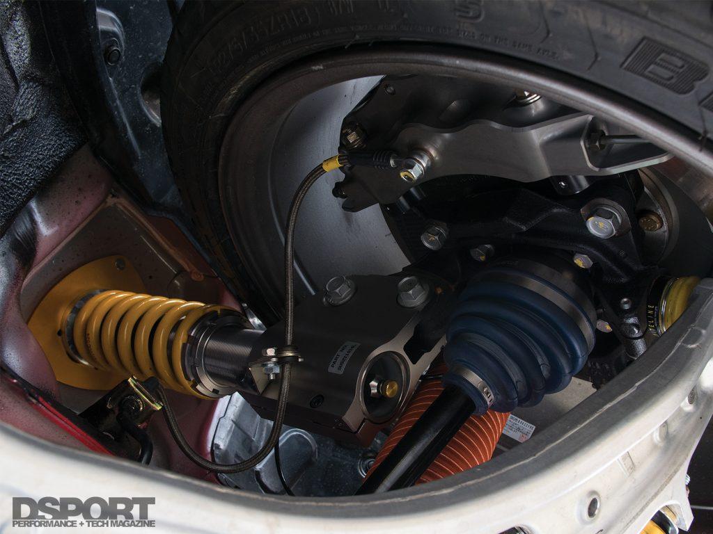 Subaru STI Suspension
