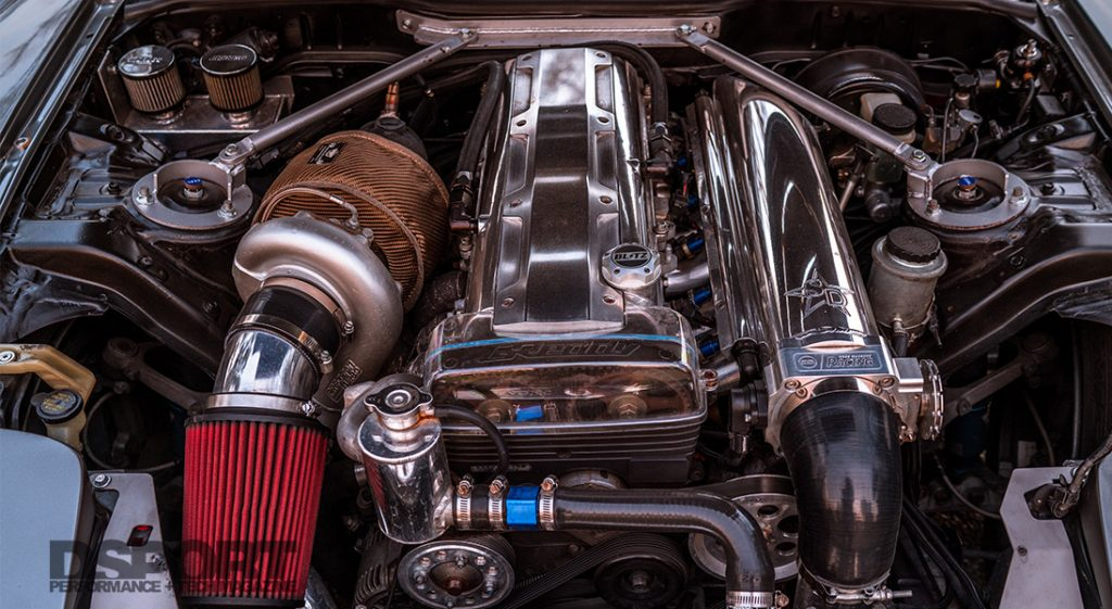 2JZ RX-7 Engine Bay