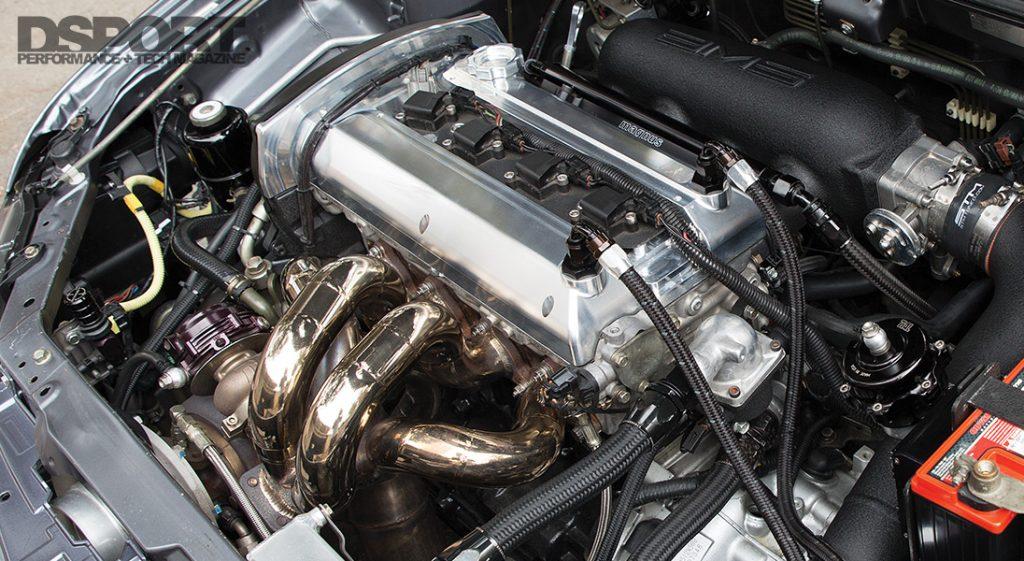 Mitsubishi Evo Engine Bay