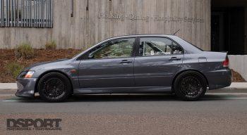 Mitsubishi Evo Side Profile