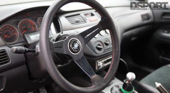 Mitsubishi Evo Steering Wheel