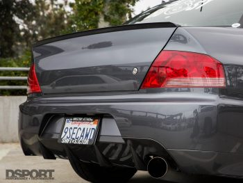 Mitsubishi Evo Rear