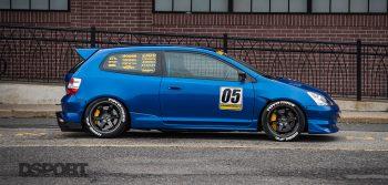 Honda Civic Si EP3 Lead