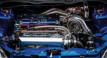 Honda Civic Si EP3 Engine Bay