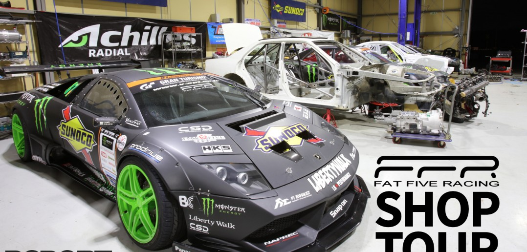 Daigo Saito's Fat Five Racing Shop Tour