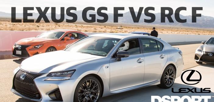 Lexus GS F vs RC F