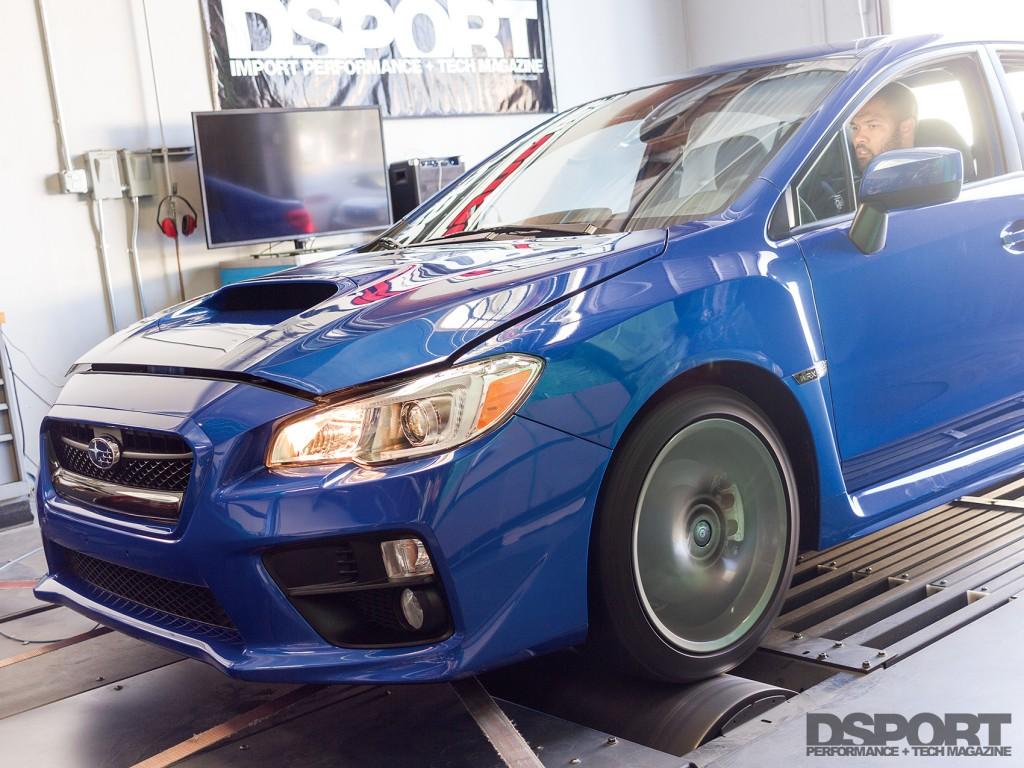 2016 Subaru WRX on the DSPORT Dyno
