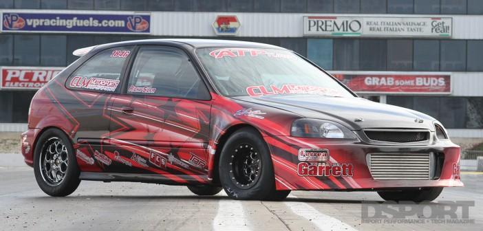 DSPORT Magazine featured 8-second Honda Civic EK Dragger