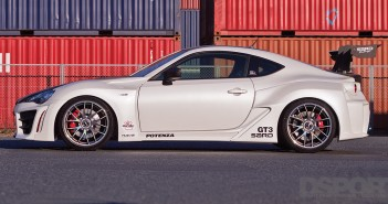 DSPORT Magazine editorial feature on the SARD Toyota 86 GT3 Concept