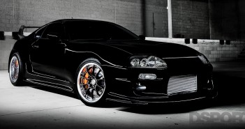 DSPORT Feature Car Toyota Supra Turbo Black Widebody