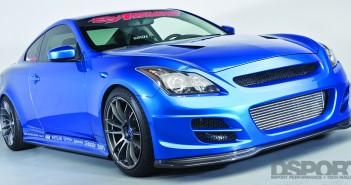 DSPORT Feature editorial on a twin turbocharged Infiniti G37S