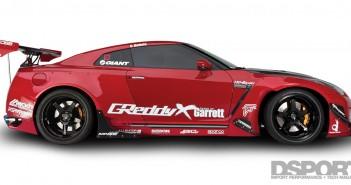 DSPORT Magazine feature article on the 1,150-horsepower Kolab Nissan GT-R
