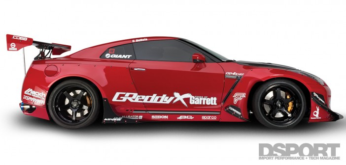 DSPORT Magazine feature article on the 1,150-horsepower Kolab Nissan GT-R