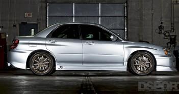 630+ Horsepower Street-driven Subaru STi