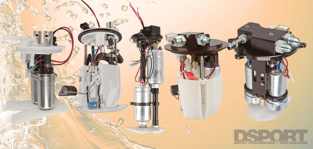 DSPORT Magazine Multipump Fuel Pump Showcase